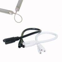 соединительные шнуры оптовых-Lemeng T5 T8 LED Лампа соединительный провод 50см встроенный кабель соединительные провода шнуры