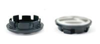 ruedas vw al por mayor-LOONFUNG LF139 Casquillo central de rueda de coche Tapas de cubo Cubiertas Insignia para VW 56mm / 65mm