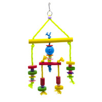 Wholesale swing patterns resale online - 2019 New Pattern Cotton Rope Parrot Swing Gnaw Articles Bird Toys