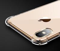 a178d18f6d324 Per Iphone X 8 7 6 6 S Plus Custodia Morbida Copertura 0.3mm TPU Silicone  Gel Iphone7 Casse del telefono Per Iphone8 Samsung Galaxy S9 telefono falso