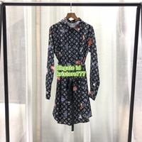 ingrosso vendita manica lunga della camicetta-Camicia lunga da donna a manica lunga Camicia lunga da uomo a manica lunga personalizzata Paris Fashion Week Camicetta da lettera ENG