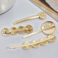 Wholesale hair accessories clip vintage for sale - Group buy Multistyle Metal Beauty Head Hair Clip Women Vintage Coin Barrettes Fashion Hair Accessories for Gift Party High Quality