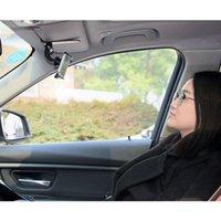 Wholesale phone car visor holder resale online - 2019 Universal Safe Sun Visor Car Phone Holder Car Navigation Holder Clip Install On Mirror Handle For Mobile Phone