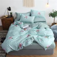 Wholesale wolf animal bedding set king resale online - Bed Linen Set D Oil Printing Bedding Set WOLF Bed Clothes D Comforter Cover Bed Sheet Set Pillowcase
