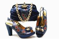 ingrosso borse borgogne-Scarpe italiane bordeaux con borse da abbinare Scarpe da sposa Nigeria e borsa da abbinare