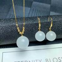 Fashion Bleu Clair Cubique Zircon incrustation plaqué or Lady Oreille Bijoux Boucles d/'oreilles Créoles
