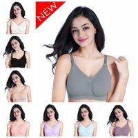 b0ba3988d43 Wholesale breathable nursing bra online - 8 Colors Maternity Nursing Bra  Seamless Push Up Front Open