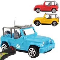 brinquedo de carro de controle sem fio venda por atacado-Simulação de carro de controle remoto sem fio novas crianças toys elétrica off road modelo de veículo cars toy kid vender bem 16xm n1