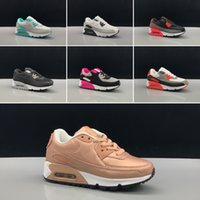 горячая обувь продавца оптовых-Nike air max 90 Детские кроссовки Presto II детские спортивные ортопедические молодежные детские тренеры детские девочки мальчики уличная обувь горячие продавцы в 10 цветах размер