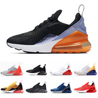 super popular 5f269 e7525 Habanero Red Air Men Running Shoes For Mens Women Cushion Sneakers Core  White Trainers Sports Athletic Triple Black Outdoor Jogging 36-45