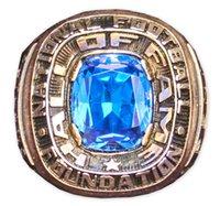 faculdade rápida venda por atacado-John Outland College Football Hall of Fame anéis de alta qualidade da moda anel de fãs melhor presente fabricantes de transporte rápido