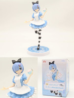 Wholesale anime girl boy toy for sale - Group buy Anime Anime Re Life in a Different World From Zero Ram Rem Cosplay hot Girl Maid Ver Rem Action figure Toys