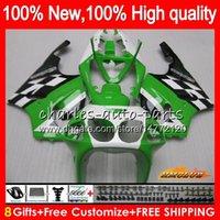 Wholesale kawasaki zx7r green fairings for sale - Group buy Body For KAWASAKI ZX R ZX750 ZX R HC ZX ZX R ZX ZX7R stock green Fairing