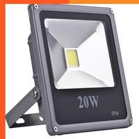Wholesale high watt lights resale online - 10pcs W W W w Watt Led Flood Light Led IP66 Waterproof V High Power Floodlight Lamp
