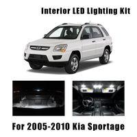 14 Bulbs Xenon White Lamps LED Interior Dome Light Kit For 2009-2014 Acura TSX