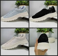 Wholesale suede flats girls resale online - 2019 New Utility Suede Women Girls Classic Blue Black White Women Running Casual Shoes Skate Low Cut Designer Platform Sneakers