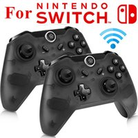 ingrosso joypad gamepad joystick-Hot Controller wireless Bluetooth per Switch Pro Controller Gamepad Joypad Remote per Nintend Switch Console Gamepads Joystick