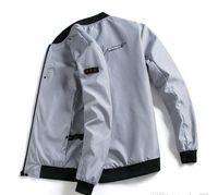 ingrosso uomini di rivestimento in panno nero-2019 uomini primavera autunno giacca Windrunner cappotto giacca sottile, uomini giacca sportiva giacca a vento esplosione modelli neri paio panno MJ02
