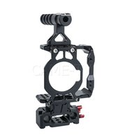 Wholesale cage for dslr camera for sale - Group buy CAME TV BMPCC K Half Cage Rig Camera DSLR Rigs