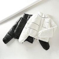 Wholesale spain clothes resale online - SZMALL Fashion Spain Winter Coat Women Solid Long Sleeve warm zipper Jacket Female Snow Outwear Lady Top Clothing