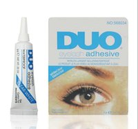 Wholesale glues online – Hot Factory Direct Sell DUO Water proof Eyelash Adhesives glue G White BlacK Make Up Tools Professional
