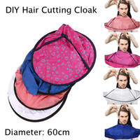 Wholesale professional hair cutting capes resale online - Hair Cutting Cloak Umbrella Stereo Breathable Hair Cloth Professional Salon Haircut Apron Hairdressing Cloths Cape