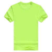 3d yuvarlak toptan satış-Marka T Gömlek 3D Pring Erkek Gençlik Moda Rahat Kişilik Mektup Baskı ile Renk Yuvarlak Boyun Kısa Kollu Dibe T-Shirt 14 Renk