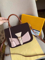Wholesale mini white color handbag for sale - Group buy Lady Fashion shoulder bag Europe and the United States trend brand design solid color mini handbags casual messenger bag