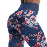 kadın s yoga giyim toptan satış-Tayt Spor Kadın Spor Leggins Spor Kadınlar Fitness Spor Yoga Pantolon Için Yüksek Bel Ganimet Push Up Şınav Tayt Tayt
