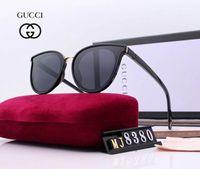 ingrosso occhiali da api-Little Bees Style Designer Occhiali da sole Luxury Occhiali da sole per uomo Donna Adumbral Glasses UV400 Brand 8380 5 colori di alta qualità con scatola