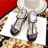 tayvan elmas toptan satış-Moda kadın sandalet renkli elmas Su Geçirmez Tayvan yaz sandalet klasik tarzı