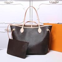 melhores bolsas de grife venda por atacado-Bolsas de grife de luxo Mulheres de luxo melhor qualidade bolsas de couro Original sacos de grife mulher Tamanho 32X29X17 CM Modelo M40995