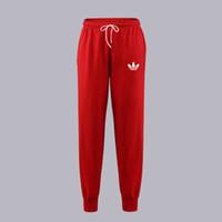 шерстяные брюки оптовых-Мода новый бренд логотип печатных бег трусцой брюки повседневная спорт бег трусцой брюки pantalon люди брюки спортивная шерсть осень и зима брюки мужчины