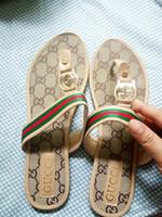 sandalias de encaje negro hasta sandalias al por mayor-Nuevas zapatillas de baño de verano sandalias de las mujeres de los hombres unisex antideslizante interior zapatillas chanclas al aire libre