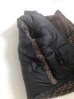 chaleco de bebé al por mayor-niños otoño invierno de las muchachas concede la chaqueta informal Fend niños ff prendas de vestir exteriores abrigos para los niños del chaleco infantil del bebé Chaleco sin mangas de la chaqueta de los niños caliente