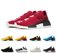 Wholesale elastic buckles for sale - Group buy Human Race TR Men Shoes Pharrell Williams Human Races Pharell Williams Mens Womens Trainers Sports Sneakers