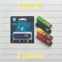 Wholesale disk stick resale online - 16GB GB GB GB GB HP Rotary metal OTG usb flash drive pendrive USB2 memory stick OTG External storage disk