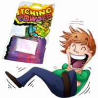 partido mágico do pó venda por atacado-Criativo Coceira Itching Powder Pacotes Prank Joke Truque Mordaça Engraçado Piada Truque Mágica Novidade Kid Adulto Brinquedo Partido Engraçado Gadgets