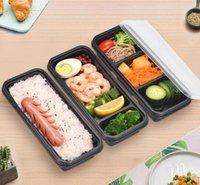 frischhaltedosen mikrowellenfest großhandel-Plastiknahrungsmittelvorratsbehälter-sichere Mahlzeit-Vorbereitungs-Wegwerfbehälter für Hauptküchen-Nahrungsmittelvorratsbehälter