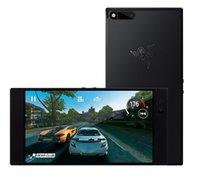 Wholesale gaming cases online - Razer Phone Hz Ultra Motion Display GB Memory GB RAM Dual Camera Dual Front Facing Speakers Gaming Phone Black