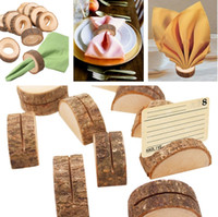 Wholesale vintage napkins for sale - Group buy New Rustic Vintage Wooden Napkin Ring Wood Creative Birthday Party Bar Wedding Table DIY Decoration rings Party Decoration