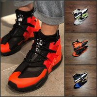 ingrosso scarpe da basket di huarache dell'aria-Air Huarache Gripp Scarpe da pallacanestro da vela Designer uomo Fibra di carbonio Squadra di alta qualità Scarpe da ginnastica all'aperto Sneakers sportive per ragazzi 40-45