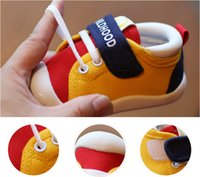 Wholesale baby boys pre walker shoes for sale - Group buy Baby Shoes Sneakers for Infant Toddler Girls Boys Kids Babies Years Pre Walker TPR Sole Breathable Outdoor Sneakers for Boys Girls