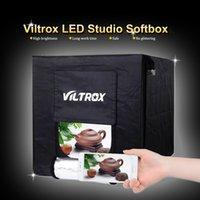 фотография с мягким освещением оптовых-Хото студия аксессуары Viltrox 60 см / 40 см складной фотостудия софтбокс светодиодные софтбокс палатка Lightbox фон для DSLR камеры ...