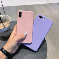 Wholesale chinese phone simple for sale - Group buy For Huawei Honor x Lite Glitter Candy Color Honor Lite Phone Case All Inclusive Simple Soft Case Honor Play
