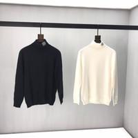 Wholesale spain clothes resale online - 2019 Fashion Autumn Winter Europe Spain Casual Wear Turtle Neck Sweaters Pullover Men Women Designer Clothing Cotton Sweater