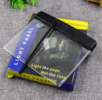luz de noche led plana al por mayor-Venta al por mayor Lámpara de Lectura Creativa Estudiante Lámpara de Lectura Plana Lámpara de Lectura LED Protector de Ojos Visión Nocturna Tablero de Iluminación
