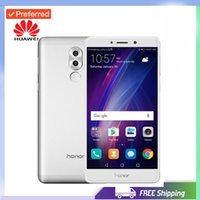 mobile digital tv für android großhandel-Werkseitig entsperrtes Original Huawei Honor 6X 4G LTE Handy Kirin 655 Octa Core Dual Rückfahrkamera 5,5 '' 3GB / 4GB RAM 32GB / 64GB ROM