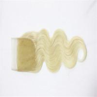 bakire malezya kılları 613 toptan satış-# 613 Vücut Dalga Saç Kapatma Ücretsiz Bölüm Brezilyalı Perulu Hint Malezya 100% Virgin İnsan Saç Adet 8-18 inç