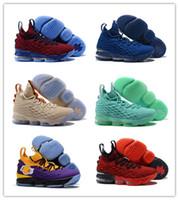 sports shoes 7974e 48132 20 Farben erhältlich Neue Ankunft Was die Lebron 15 Ice Fire Basketball- Schuhe für hochwertige James 15s Airs Kissen Schuhe Größe 40-46